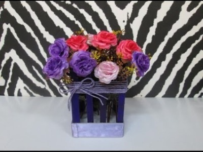 DIY : #63 Mini Flower Basket ♥