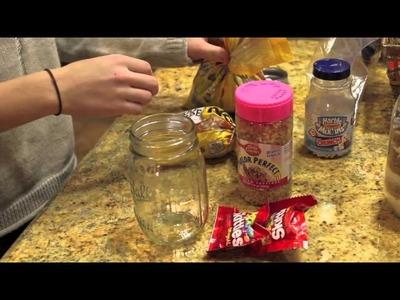 DIY holiday gift: jar of dry ingredients!!