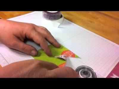 Easy Paper Pinwheel Tutorial - Stampin' Up Style