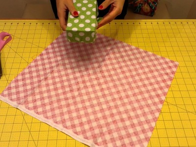 Fabric Wrapping - How to Measure your Fabric Before Wrapping