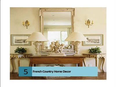 French Country Home Decor Design Ideas, Pictures