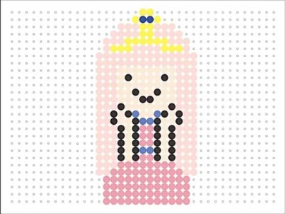 Hama Bead Princess Bubblegum (Adventure Time Series #3)