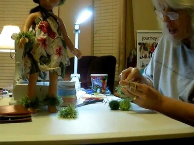 How to make a Hawaiian Doll Lei
