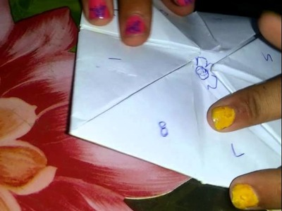 How to make a paper tip top(2)