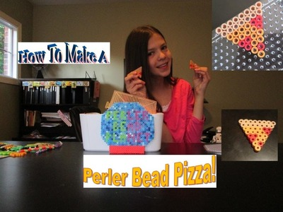 How To Make A Perler Bead Pizza Slice