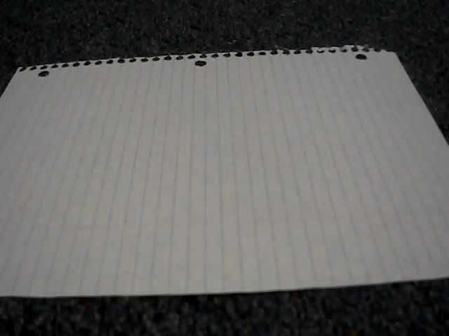 How to make holes in a paper