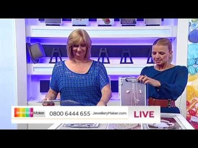 How to make Polymer Clay Jewellery - JewelleryMaker LIVE (am) 27.07.2014