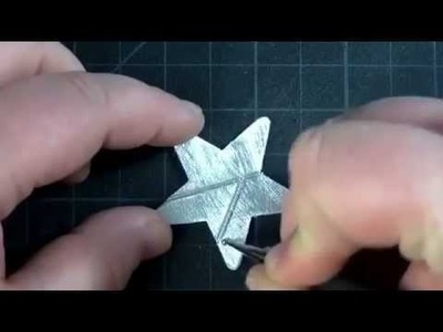 -- How to Make - Vintage Metal Charms --‏ - YouTube