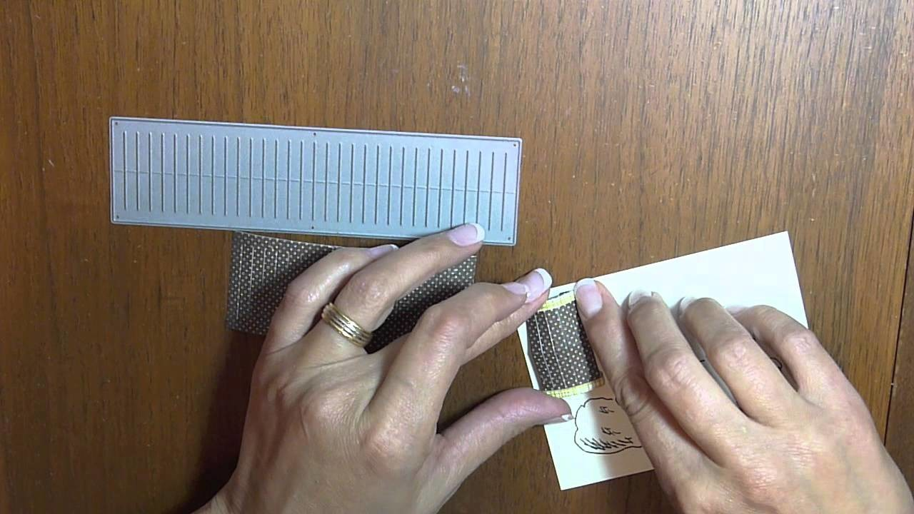 Making a Paper Lantern using the Loopy Bloom die-namic
