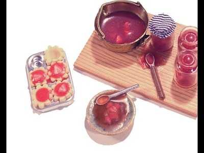 Making Jam Tarts From Liquid Polymer  - Angie Scarr