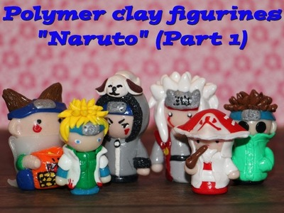 """Naruto"" polymer clay (part 1)"