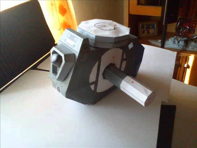 Optimus Prime paper model making video part 1