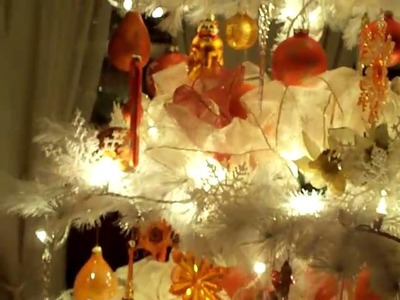 Our  Orange Christmas tree