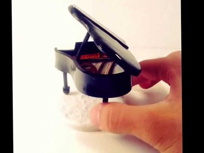 Polymer clay piano