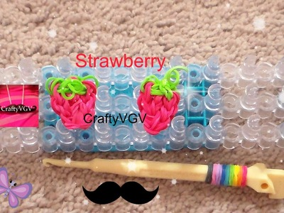 Rainbow Loom: Strawberry- How To