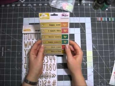 Scrapbooking Haul- Hip Kit Club March 2015 Kits