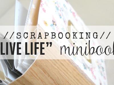 Scrapbooking:: mini album (video tutorial for Citrus Twist Kits)