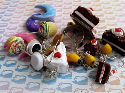 Talty's Creations #8 Polymer Clay Charm and Jewelry Update