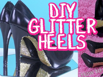 Upcycling Ideas: DIY Glitter Heels Tutorial | DecorateYou