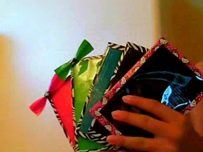 1 wallet, 5 magnetic picture frames, 1 ziplock coin pouch and a ziplock pencil case