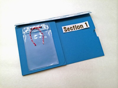 #2 Pocket Page Wallet - Section 1