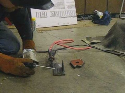 Arc Welding with 3 Car Batteries (Tutorial & Demo)