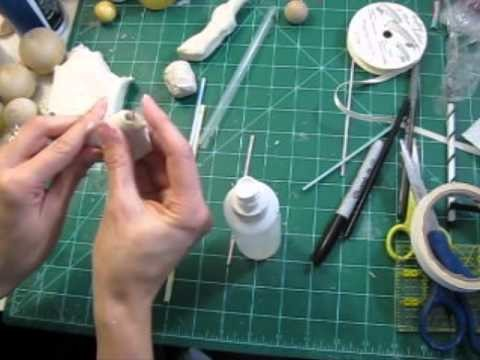 Building a ball-jointed doll pt 1b