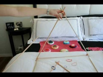 Building Tent Frame -In The Dog House Pet Bed#5