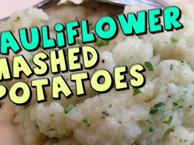Cauliflower Mashed Potatoes Recipe (Low Carb.High Fiber)