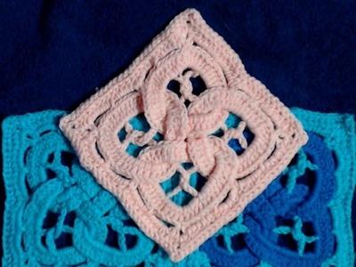 Celtic Knot Blanket Square   LH
