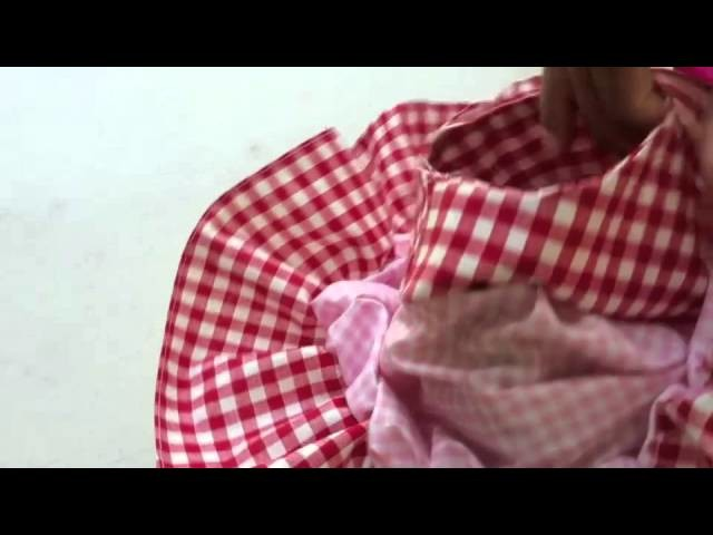 Cute Dress to sew for Girls part 2 of 2
