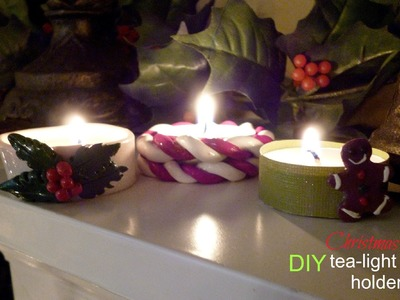 DIY Christmas Tea-Light Holders