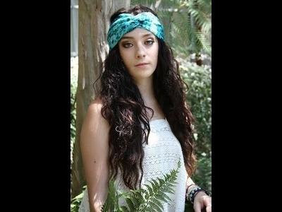DIY: Head Scarves & Bandanas | ShowMeCute