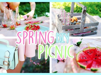 DIY Healthy Spring Picnic ♡ Decor, Snacks & Outfit