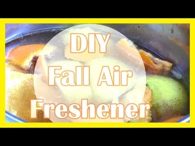 DIY HOMEMADE AIR FRESHENER!