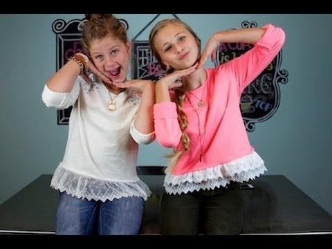 DIY: Lace Sweatshirt | ShowMeCute