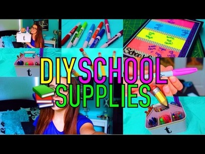 DIY SCHOOL SUPPLIES & ORGANIZATION! + GIVEAWAY WINNER