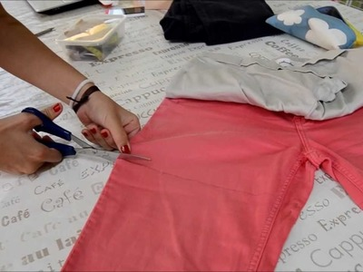✄  DIY - Shorts con tachuelas y desteñidos degradados
