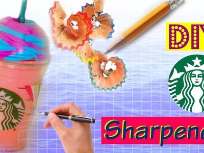 DIY Starbucks Sharpener. School Supplies!