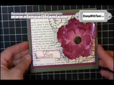 Faux Mother of Pearl Technique - Stampin' Up!