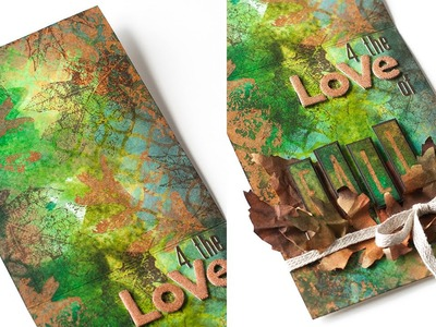 For the Love of Fall: Art Journal