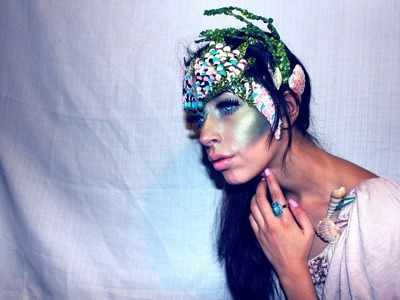 Halloween Makeup Mermaid