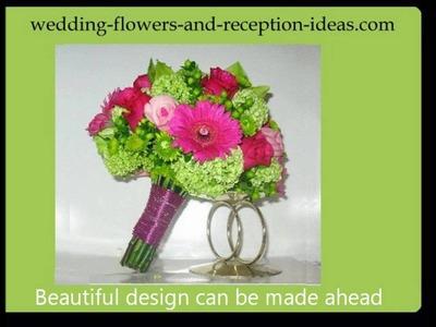 Hand Tied Wedding Bouquet