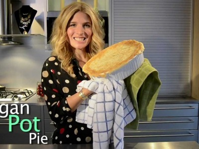 Holiday Tutorial #6 Vegan Pot Pie - Mr. Kate's 12 DIYs of the Holidays