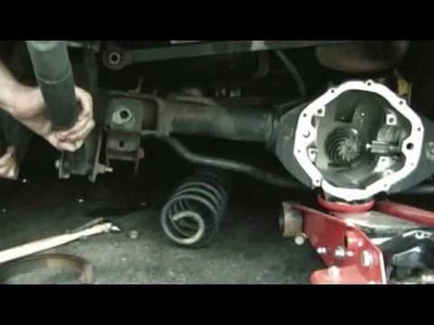 How Much Abuse Can a Trailblazer Take Part 2 : How to Replace a Rear Axle