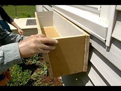 How to Build and Install Window Boxes - This Old House