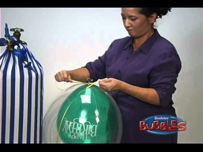 How to inflate Deco Bubble Balloons