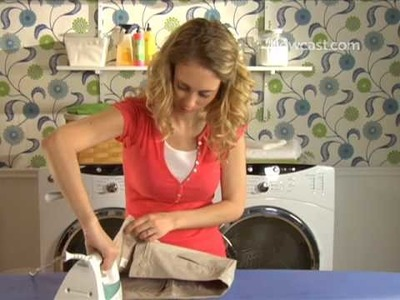 How to Iron a Pair Of Pants
