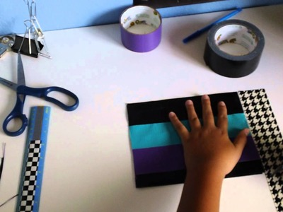 How to make a duct tape pillow