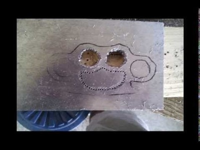 How to make Aluminum Knuckle Dusters at home
